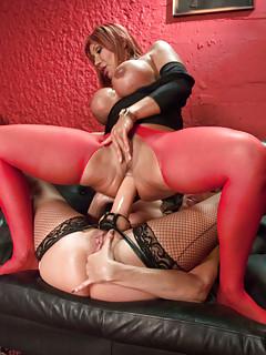 Free Big Tits Strapon Porn